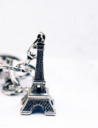 Tour Eiffel en porte-clés